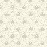 Eco Wallpaper Diamond Light Grey & White Wallpaper