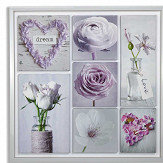 Arthouse Inspirations Pink / Lavender Art