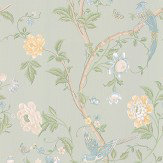 Laura Ashley Summer Palace Eau de Nil Wallpaper