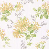 Laura Ashley Honeysuckle Trail Camomile Wallpaper
