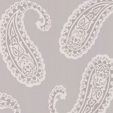 Laura Ashley Emperor Paisley Dove Grey Wallpaper