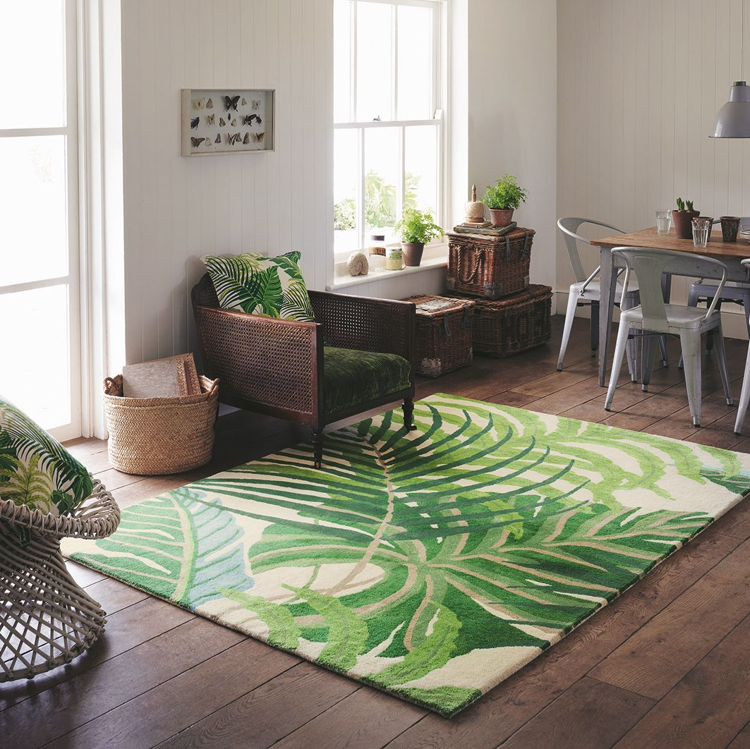 Sanderson Manila Green Rug - Product code: 46407 / 295222
