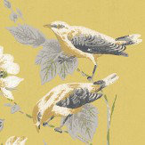 1838 Wallcoverings Rosemore Chartreuse Wallpaper