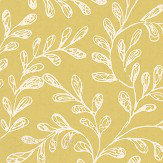 1838 Wallcoverings Audley Chartreuse Wallpaper