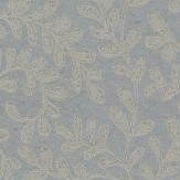 1838 Wallcoverings Audley Aqua / Silver Wallpaper