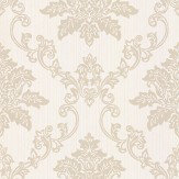 1838 Wallcoverings Hampton Beige Wallpaper