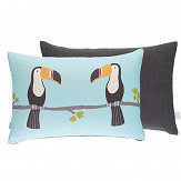 Scion Terry Toucan Cushion Duck Egg Duck Egg