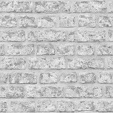 Arthouse Rustic Brick Grey Wallpaper - Product code: 889606