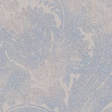 Galerie Pretty Paisley Blue  / Grey  Wallpaper - Product code: 18380