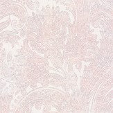 Galerie Pretty Paisley Pink / Grey Wallpaper