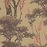 1838 Wallcoverings Harewood Gold Wallpaper