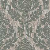 1838 Wallcoverings Faversham Sage Wallpaper