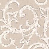 1838 Wallcoverings Brodsworth Cream Wallpaper