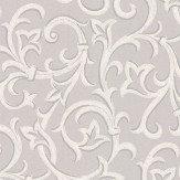 1838 Wallcoverings Brodsworth Grey Wallpaper