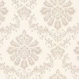 1838 Wallcoverings Broughton Cream Wallpaper
