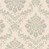 1838 Wallcoverings Broughton Eau De Nil Wallpaper