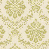 1838 Wallcoverings Broughton Lime Wallpaper