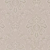 1838 Wallcoverings Broughton Gold / Parchment Wallpaper