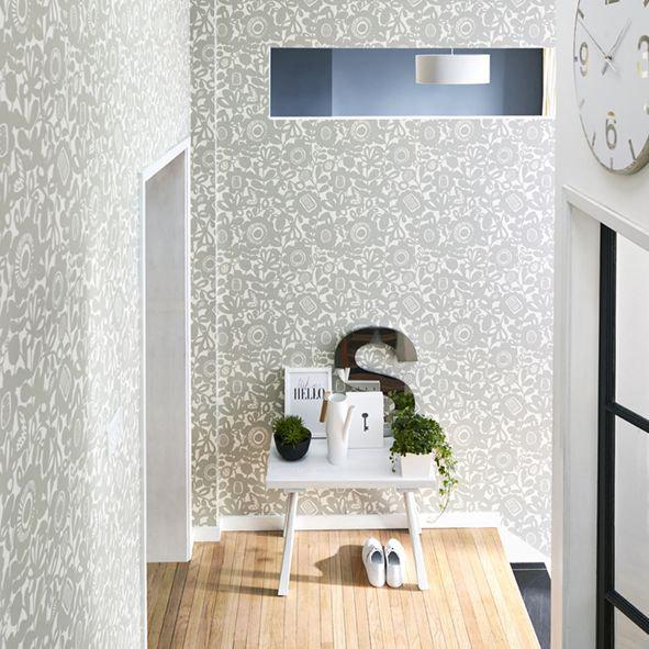 Scion Kukkia Birch Wallpaper - Product code: 111513