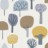 Scion Liora Honey / Cocoa / Slate Wallpaper - Product code: 111525