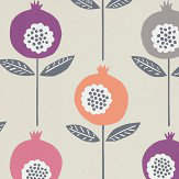 Scion Pepino Bilberry / Dijon / Rhubarb Wallpaper - Product code: 111545