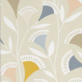 Scion Noukku Blush / Honey / Raffia Wallpaper - Product code: 111550