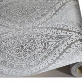 Albany Kismet Silver Wallpaper - Product code: A17703