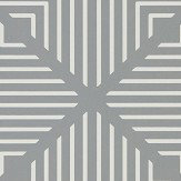Harlequin Radial Slate and Chalk Wallpaper