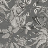 Cole & Son Savuti Charcoal Wallpaper - Product code: 109/1002