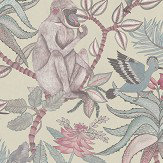Cole & Son Savuti Stone Neutral Wallpaper