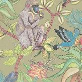 Cole & Son Savuti Khaki Multi Wallpaper