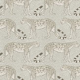 Cole & Son Leopard Walk Black / White Wallpaper