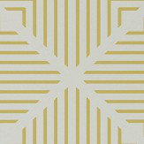Harlequin Radial Mineral and Zest Wallpaper