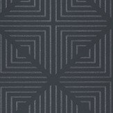 Harlequin Radial Beaded Jet and Crystal Wallpaper
