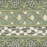 Cole & Son Ardmore Border Olive - Product code: 109/5024
