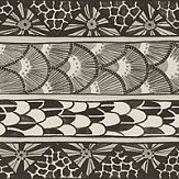 Cole & Son Ardmore Border Black / White - Product code: 109/5025