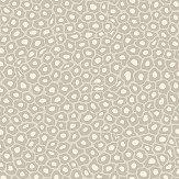 Cole & Son Senzo Spot Stone / White Wallpaper