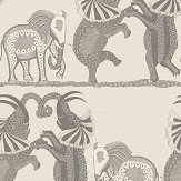 Cole & Son Safari Dance Pale Stone / Grey Wallpaper - Product code: 109/8037