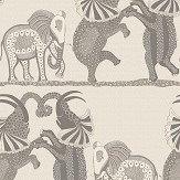 Cole & Son Safari Dance Pale Stone / Grey Wallpaper