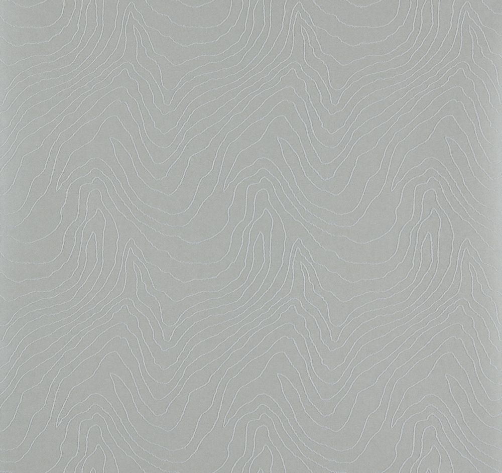 Formation Beaded Wallpaper - Silver - by Harlequin
