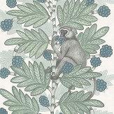 Cole & Son Acacia Blue & Green Wallpaper