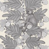 Cole & Son Acacia Grey & White Wallpaper