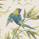 Little Greene Great Ormond St Tropical Wallpaper