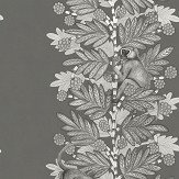 Cole & Son Acacia Charcoal & Silver Wallpaper - Product code: 109/11055