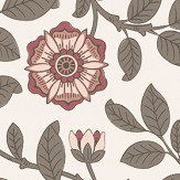 Little Greene Richmond Green Stella Wallpaper