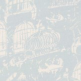 Belynda Sharples Linen Union Birdcage 04 Blue Fabric - Product code: BS-LU-BC-04