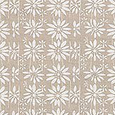 Belynda Sharples Linen Union Daisy 01 Fabric - Product code: BS-LU-DAI-01