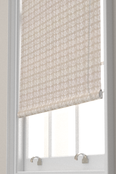 Belynda Sharples Linen Union Daisy 01 Blind - Product code: BS-LU-DAI-01