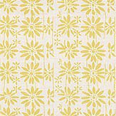 Belynda Sharples Linen Union Daisy 02 Yellow Fabric