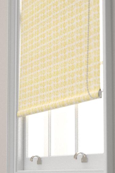 Belynda Sharples Linen Union Daisy 02 Yellow Blind - Product code: BS-LU-DAI-02